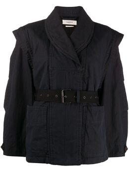 Isabel Marant Etoile куртка Raine с поясом VE120720P007E