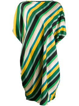 Gianluca Capannolo платье оверсайз в полоску 20EA146450