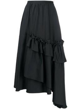 Antonio Marras юбка асимметричного кроя с оборками LB2014D09S0