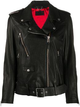 Golden Goose байкерская куртка G36WP136A2