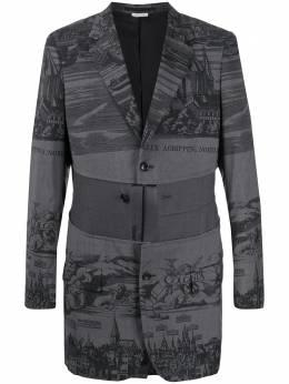 Comme Des Garcons Homme Plus пиджак с принтом PEJ024