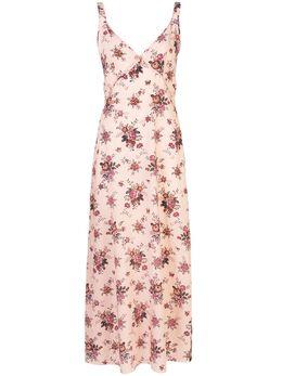 R13 платье с цветочным принтом R13W771648A