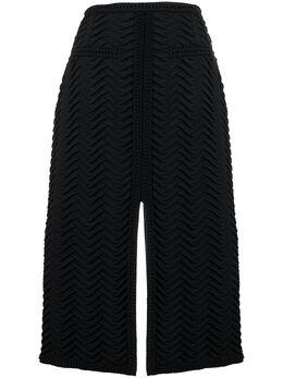 Marco De Vincenzo юбка миди с разрезом MQ5229MDVZI01