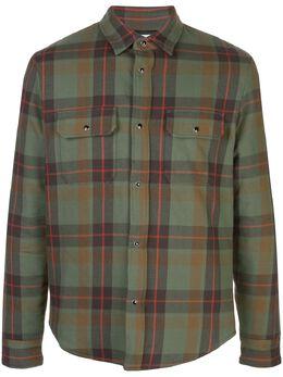 John Elliott клетчатая рубашка EXCFW19M01