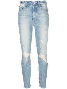 Mother укороченные джинсы 1521259SAA