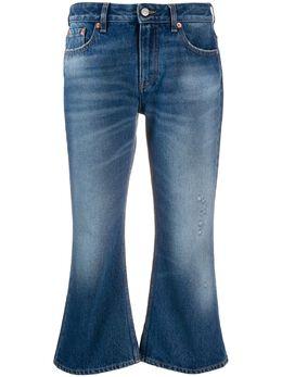 Mm6 Maison Margiela укороченные расклешенные джинсы S32LA0216S30589