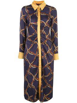 Jonathan Simkhai платье с принтом 1201076W