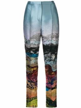 Mary Katrantzou брюки с вышивкой JAZZMB050