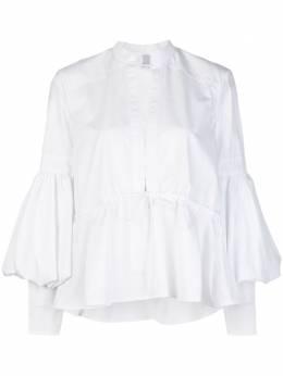 Rosie Assoulin блузка с пышными рукавами 201T08WC143