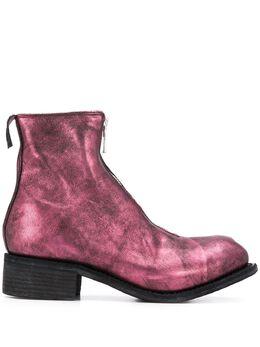 Guidi ботинки с эффектом металлик PL1LAMINATED