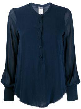 Kristensen Du Nord рубашка свободного кроя с необработанными краями U116