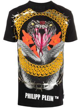 Philipp Plein футболка с принтом S20CMTK4292PJO002N