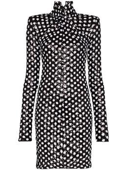 Richard Quinn платье мини с пайетками RQSS2069