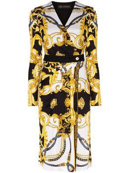 Versace платье с принтом Barocco Rodeo Queen A85420A233251