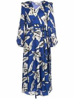 Veronica Beard платье миди с цветочным принтом 1911JQ0142768