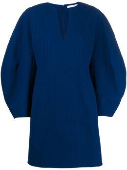 Givenchy платье-трапеция с объемными рукавами BW20TE10EG
