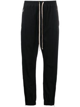 Rick Owens спортивные брюки с кулиской RP20S1313BA