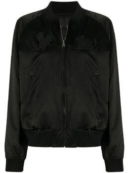 Comme Des Garcons Noir Kei Ninomiya куртка-бомбер на молнии 3EJ008S20