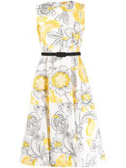 Erdem платье Farrah с цветочной вышивкой SS2021191YCFJ