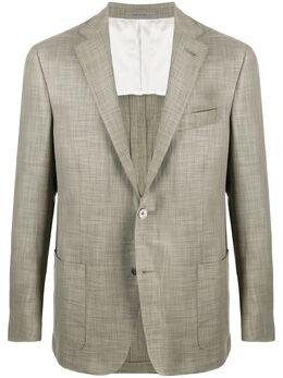 Corneliani пиджак с узором 85XY700118263