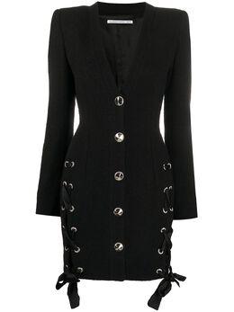 Alessandra Rich короткое платье-блейзер FAB2036F2521