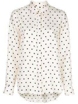 Adam Lippes рубашка в горох S20115PK
