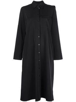 Mm6 Maison Margiela платье-рубашка с драпировкой S52CT0494S52531