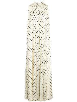 Adam Lippes платье в горох S20738FL