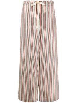 Jil Sander пижамные брюки с контрастными полосками JPPQ311505WQ211217
