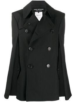 Junya Watanabe пиджак с рукавами кап JEC002S20