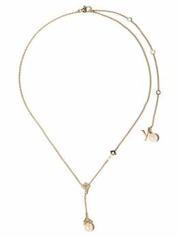 Yoko London золотое колье Trend с жемчугом и бриллиантами Q2095NLET6FLY