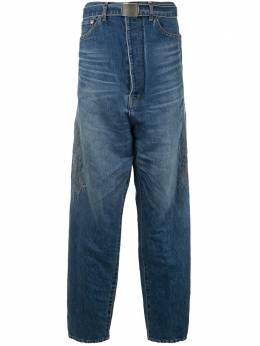 Doublet джинсы с вышивкой 20SS13PT121