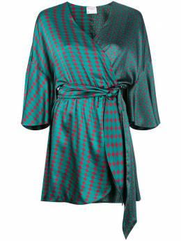 Cynthia Rowley платье мини Jacquetta с запахом 20R1DR17SK