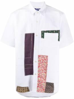 Junya Watanabe Man рубашка в технике пэчворк с короткими рукавами WEB007S20