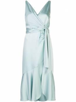 Jonathan Simkhai атласное платье миди Mia 2201043Q