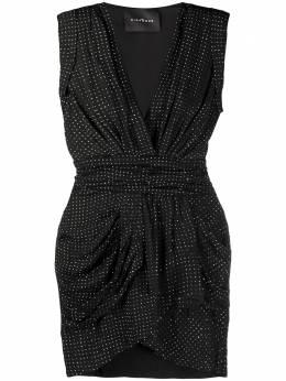 John Richmond коктейльное платье со стразами RWP20002VE