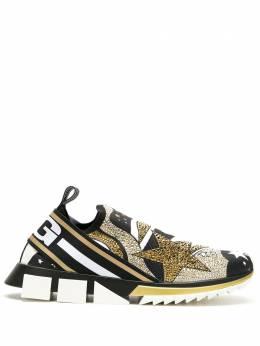 Dolce&Gabbana слипоны Sorrento с принтом CS1713AJ606