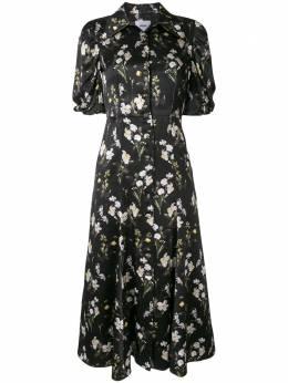 Erdem платье Gisella с принтом PS2020937DDSS