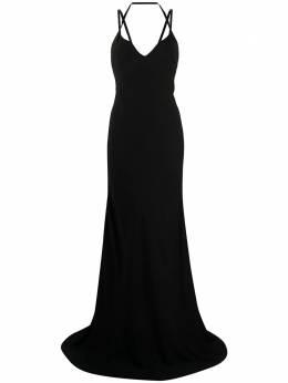 Haider Ackermann вечернее платье без бретелей 2032202108