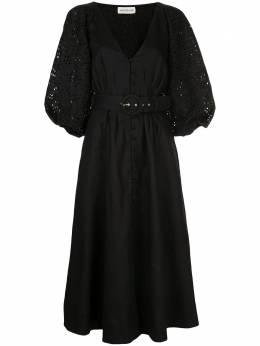 Nicholas платье с кружевными рукавами S20D185973