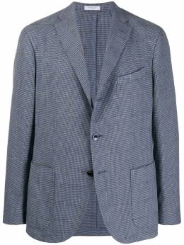 Boglioli однобортный пиджак в ломаную клетку N2902JBRC412