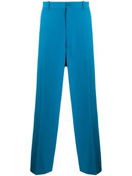 Balenciaga строгие брюки прямого кроя 622229TIT17