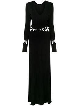 Dion Lee трикотажное платье фактурной вязки A7357S20