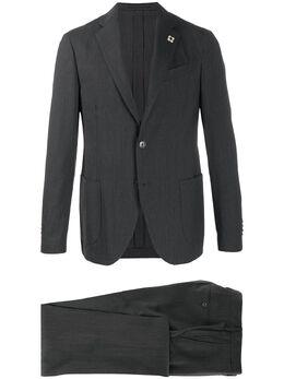 Lardini однобортный пиджак узкого кроя EIEW54705