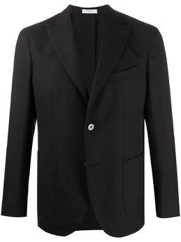 Boglioli однобортный пиджак строгого кроя N6302EBAS534990