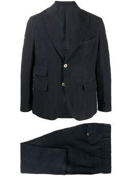 Eleventy костюм-двойка с однобортным пиджаком A70ABUA01TET0A020
