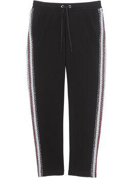 Burberry спортивные брюки с монограммой 8026941