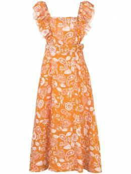 Nicholas платье с принтом пейсли и поясом S20D188951