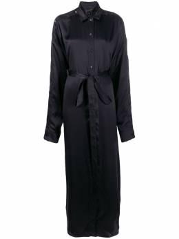 Y / Project платье-рубашка с поясом на завязке WDRESS66S17F72