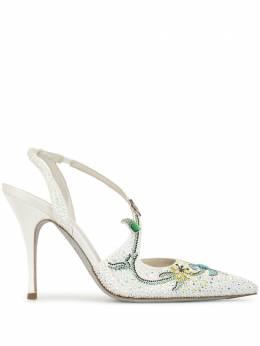 Rene Caovilla туфли Flora с заостренным носком C10467100R001V479
